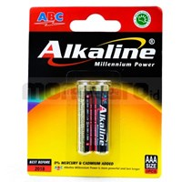 ABC Battery Alkaline AAA (LR03) bp2