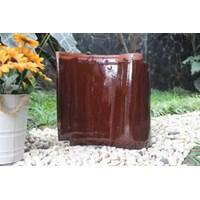 Genteng Keramik KIA T.NAT KW 1/CHOCO BROWN