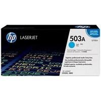 Toner Printer  Cartridge HP Original LaserJet - Q7581A - Cyan