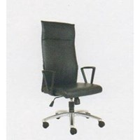 Kursi Kantor Chairman Premier Collection PC 9810 BAC - Oscar / Fabric - Kaki Aluminium - Hitam - Inden 14-30 Hari