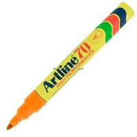 Spidol permanen Marker Artline 70 Orange