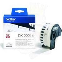 Label Printer Brother Continuous Length Tape DK-22214 - 12 mm - Putih
