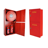 Fire Hose Box Stainless 45X55cm Include Isi