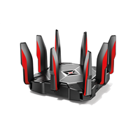 Wireless Router Tri-Band Wi-Fi TP-Link 2167Mbps at 5GHz_1 + 2167Mbps at 5GHz_2+ 1000Mbps  at 2.4GHz, 5 Gigabit Ports Archer C5400X(US)