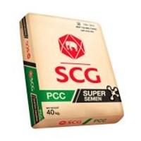 Semen SCG Super 40 kg 1 DO / 200 Sak