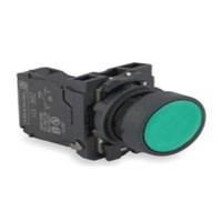Schneider Push Button - Diameter 22 mm - 1 NO - Hijau