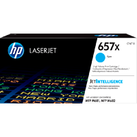 TONER PRINTER HP 657X Cyan Contract LaserJet Toner Cartridge