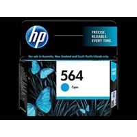 Tinta HP Original Ink Cartridge 564 - CB318WA - Cyan
