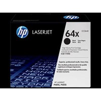 Cartridge Printer HP Original High Yield Toner LaserJet  CC364X Hitam