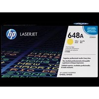 Toner Printer Cartridge HP Original LaserJet 648A - CE262A - Kuning
