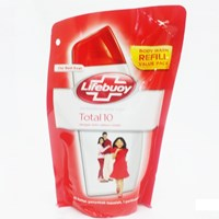 LIFEBUOY BW TOTALPROTECT RED PCH 450 ML
