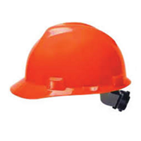 Helm Safety V-Gard Cap + Fastrac Jingga (Orange)
