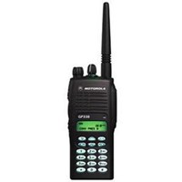 HT Handy Talky GP338 - Hitam - Motorola