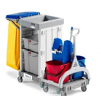 Alpha Trolley 3101 With Wheel & Bag Holder Type 1
