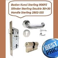 Gagang Pintu Set Sterling 2802-SSS