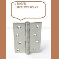 Engsel Pintu dan Jendela Sterling 5x4x3