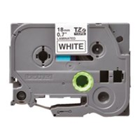 Pita Printer Brother Label Tape TZe-S241 - 18 mm - Black on White