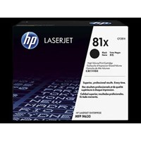 Toner Printer Cartridge HP Original High Yield LaserJet 81X - CF281X - Hitam