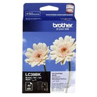 Tinta Printer Brother Ink Cartridge LC-39-BK Untuk DCP-J125/DCP-J315W - Hitam