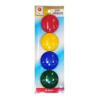 Joyko Magnet Bundar MN-40-4 - Warna Campuran - 1 Karton Isi 12 Set @ 4 Magnet