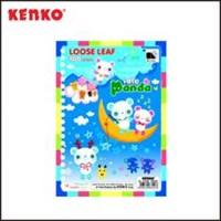 Kertas Isi File Binder ukuran A5 Kenko Loose Leaf A5-50 FC 50 Sheet Fancy