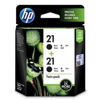 CATRIDGE PRINTER HP 21 Black Twin Pack Ink Cartridge
