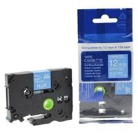 Pita Printer Brother Label Tape TZe-535 - 12 mm - White on Blue