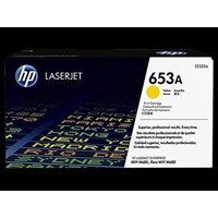 Toner Printer Cartridge HP Original LaserJet 653A - CF322A - Kuning