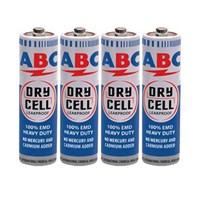 ABC Baterai Dry Cell AA Putih/Biru