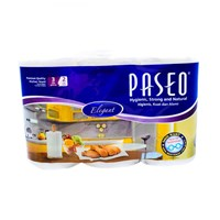 PASEO TWL WHT EMB 2 ROLL 411017 70 PCS