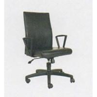 Chairman Premier Collection Kursi Kantor PC 9830 BA - Oscar / Fabric - Kaki Aluminium - Hitam - Inden 14-30 Hari