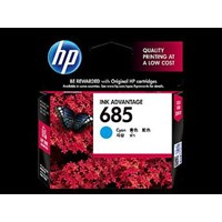 Tinta HP Original Ink Advantage Cartridge 685 - CZ122AA - Cyan