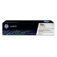Toner printer Cartridge HP Original  LaserJet - CE312A - Kuning