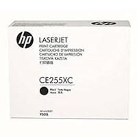 Toner printer cartridge HP CE255XC Black