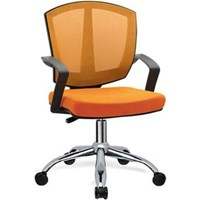 Donati Kursi Kantor Zeda 1 C - Oscar/Fabric - Orange - Indent 14 hari s/d 30 hari