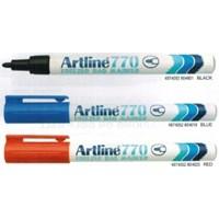 Spidol permanen Marker Hitam  Artline 770 Freezer Bag