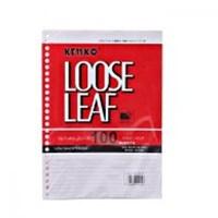 Kertas Isi File Binder ukuran B5 Kenko Loose Leaf B5-LL 100-2670 100 Sheet