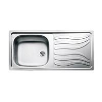 Kitchen Sink Tempat Cuci Piring [Napea 45 S/Steel] Teka