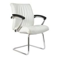Kursi Kantor Chairman Premier Collection PC 9950 A - Oscar / Fabric - Kaki Chrome - Putih - Inden 14-30 Hari