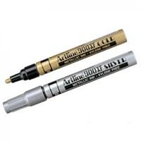Spidol Permanen Metalic INK Marker Silver Artline 900XF