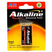 ABC Battery Alkaline 9 Volt (6LR61) bp1