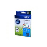 Tinta Printer Brother Ink Cartridge LC-535XL-C - Cyan