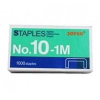 Joyko Staples No.10-1M - Isi 1000 - Silver - 1 Pak Isi 20 Pcs