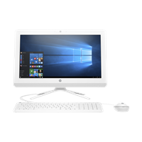 PC HP 22-b304d CPU: i5-7200U dengan Integrated with Processor chipset. Monitor: 21.5''. RAM: 4GB DDR4. HDD: 1TB