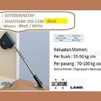 Engsel Kabinet SDS-C100-Hitam Sugatsune