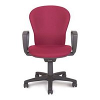 Kursi Kerja / Kursi Kantor Chitose Legno 201 - Merah