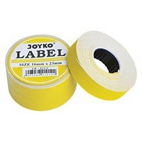 Label LB-P2CY (2 baris,Cah-Cah, Yellow) Joyko