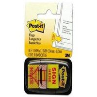 3M Post-It Tape Flag Sign Here 680-9