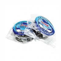 Lakban / Cloth Tape Biru ( Blue Core )- 48 mm x 12 Yard - Hitam - 1 Box Isi 60 Roll