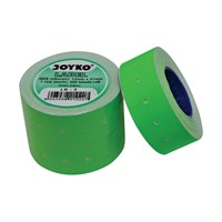 Label Harga Joyko LB-9 (1 baris, fluorescent green)